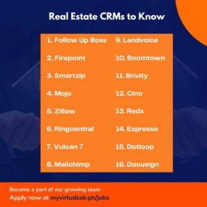 Real Estate CRMs for Virtual Assistants