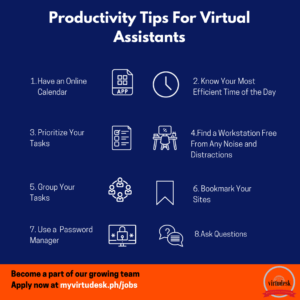 Productivity Tips For Virtual Assistant