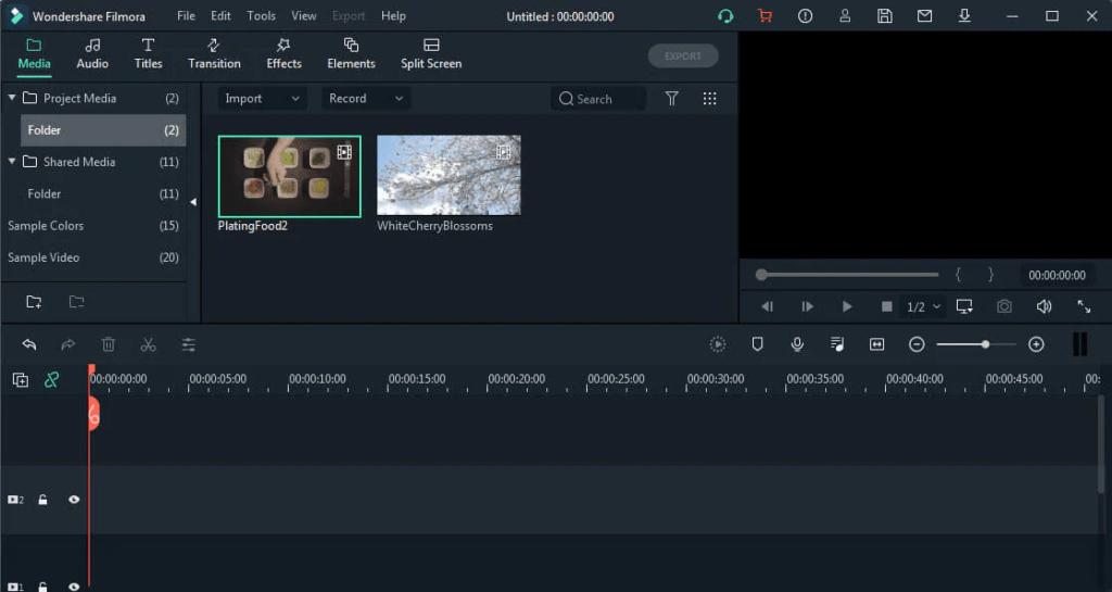 video editing tools filmora